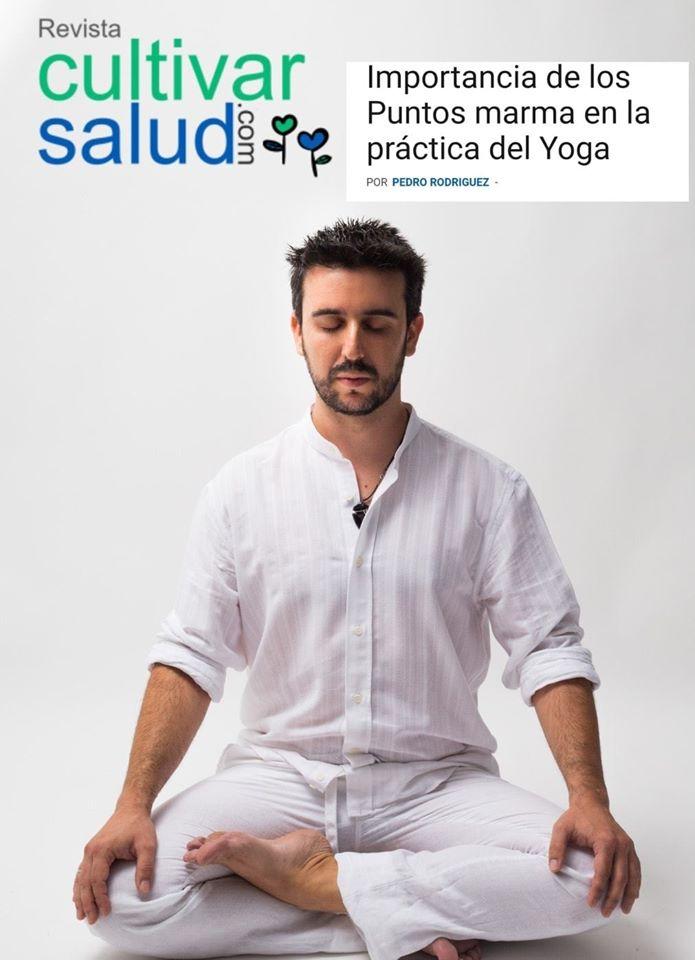 Hablo osbremarma y yoga en revista Cultivar Salud