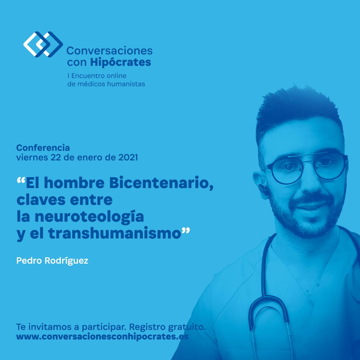 Pedro Rodríguez en Conversaciones con Hipócrates